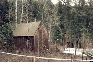 La cabaña en la que vivía Unabomber